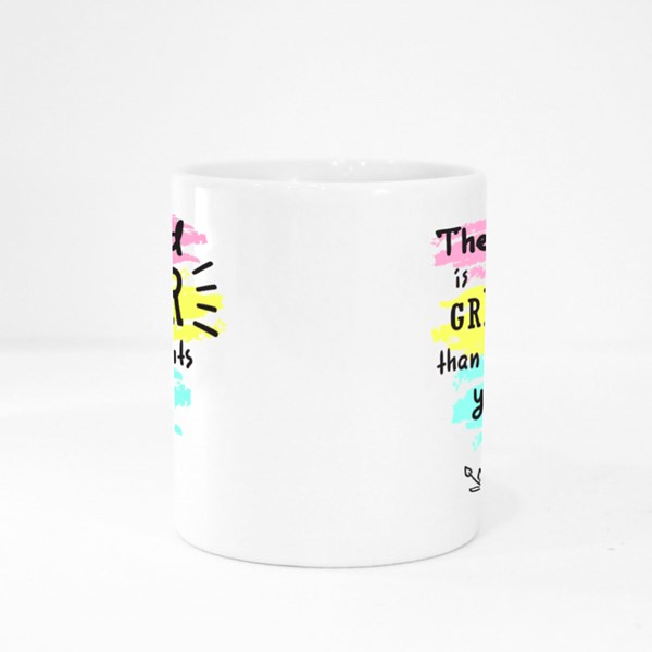 The Lord Is Greater Colour Mugs