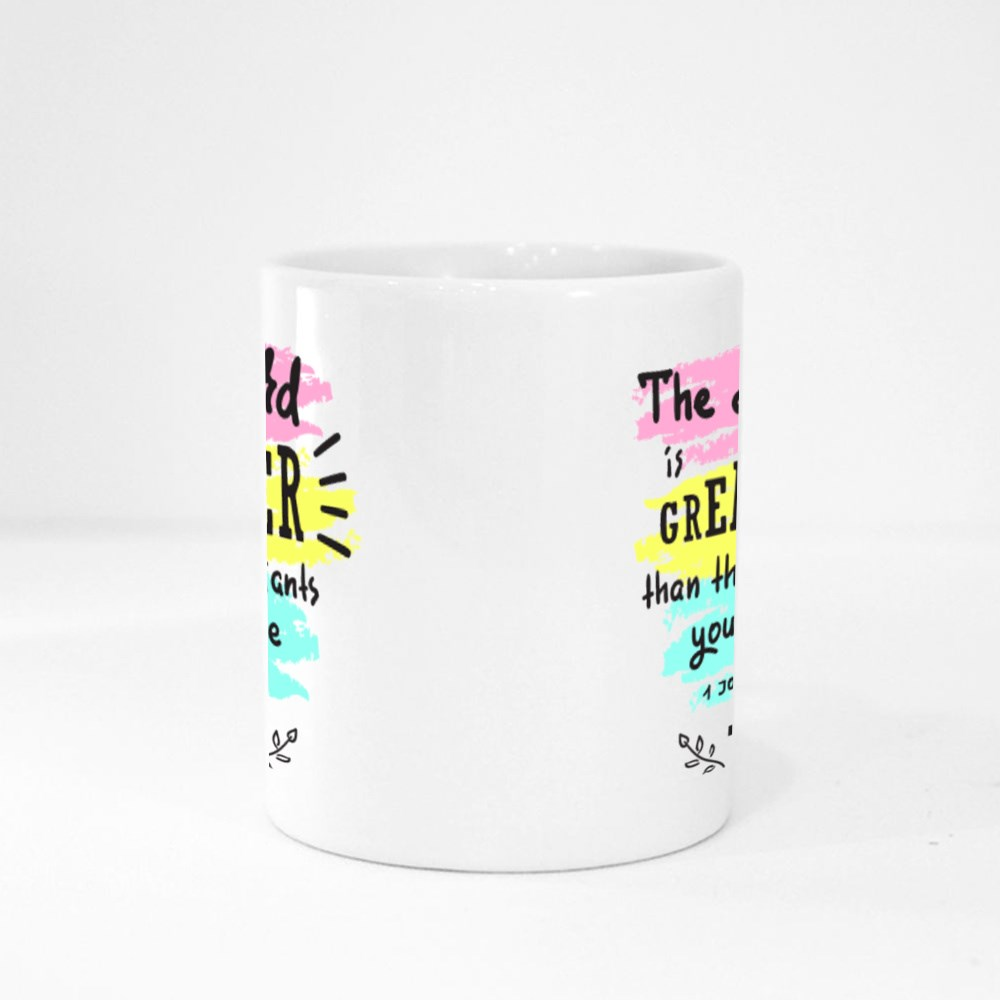 The Lord Is Greater Magic Mugs
