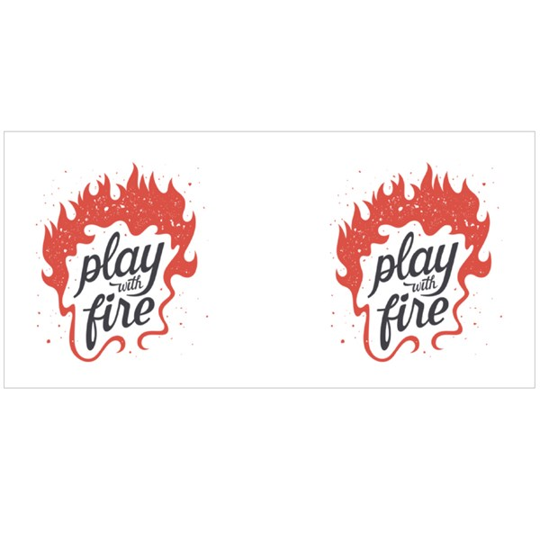 Play With Fire Colour Mugs
