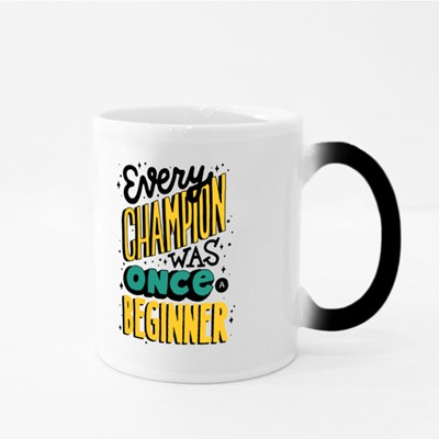 Every Champion Was Once a Beginner Magic Mugs