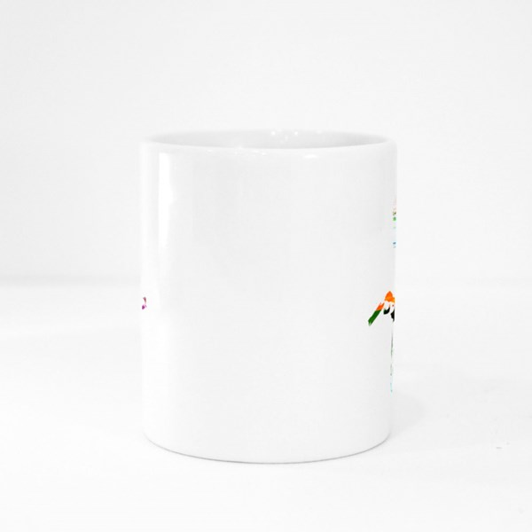 Writing on Typing Machine Colour Mugs
