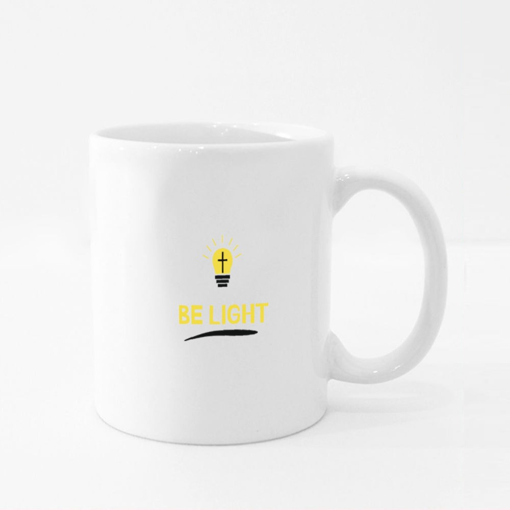 Christ Will Be the Light Colour Mugs