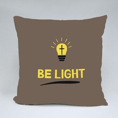 Christ Will Be the Light Throw Pillows