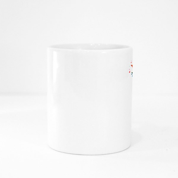Background With Music Notes Colour Mugs