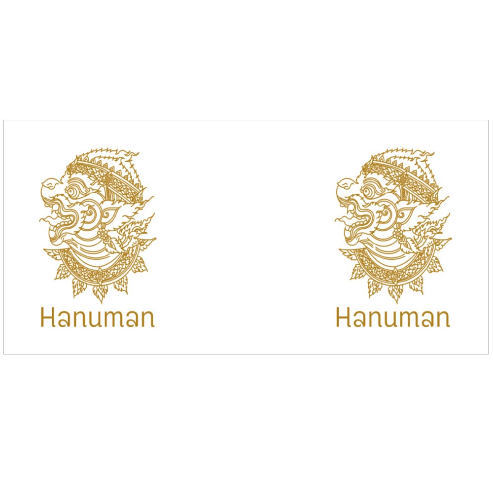 Hanuman in Shadow Puppet Style Magic Mugs