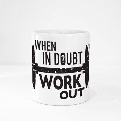 When in Doubt, Workout Magic Mugs