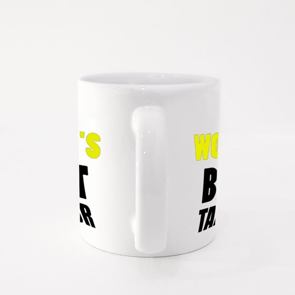 World's Best Tailor Colour Mugs