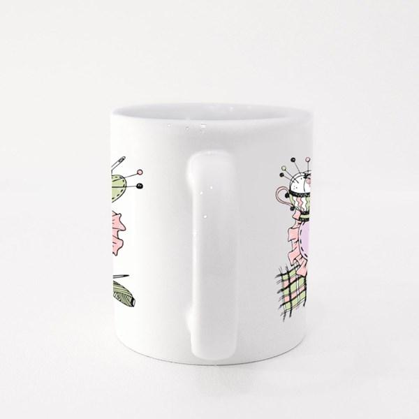 Handmade Sewing Tailor Colour Mugs