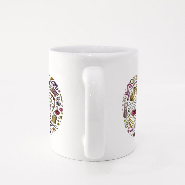 A Tailor's Equipments Colour Mugs