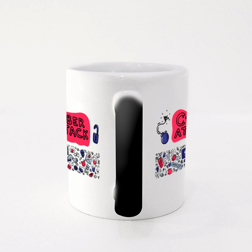 Cyber Attack Theft Magic Mugs