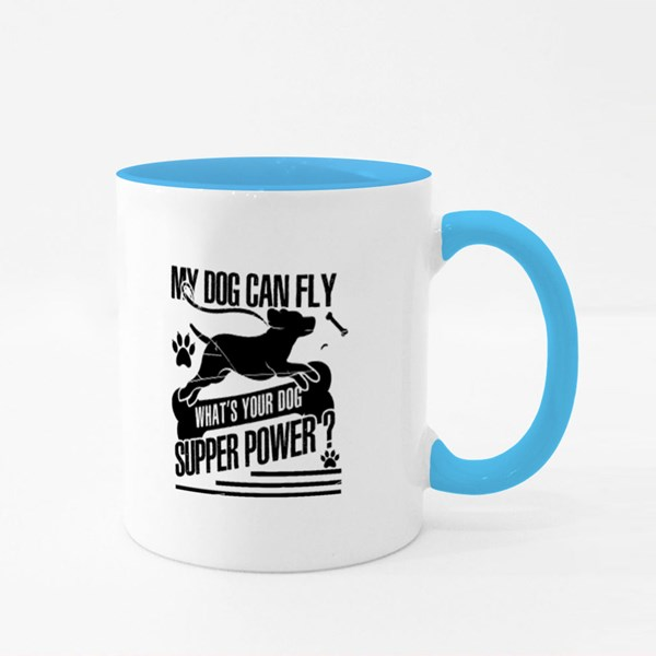 What's Your Dog Superpower Colour Mugs