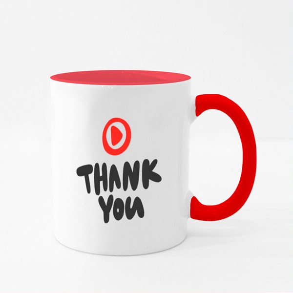 Thank You, Youtuber Colour Mugs