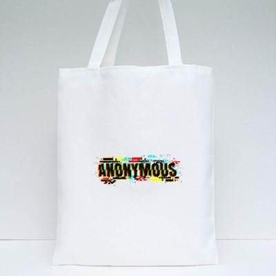 Glitch Anonymous 帆布袋