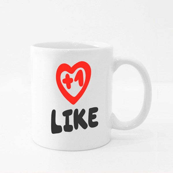 1 Like, Youtuber Colour Mugs