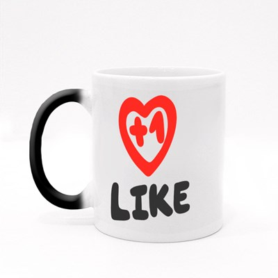 1 Like, Youtuber Magic Mugs