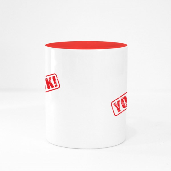You Suck Red Stamp Colour Mugs
