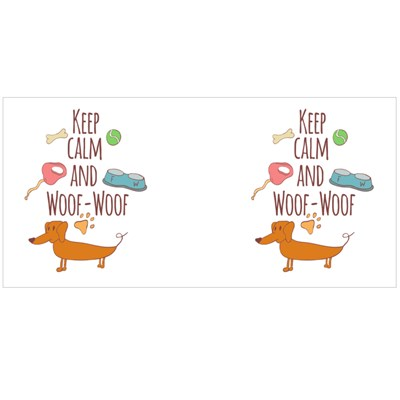 Keep Calm and Woof-Woof Magic Mugs