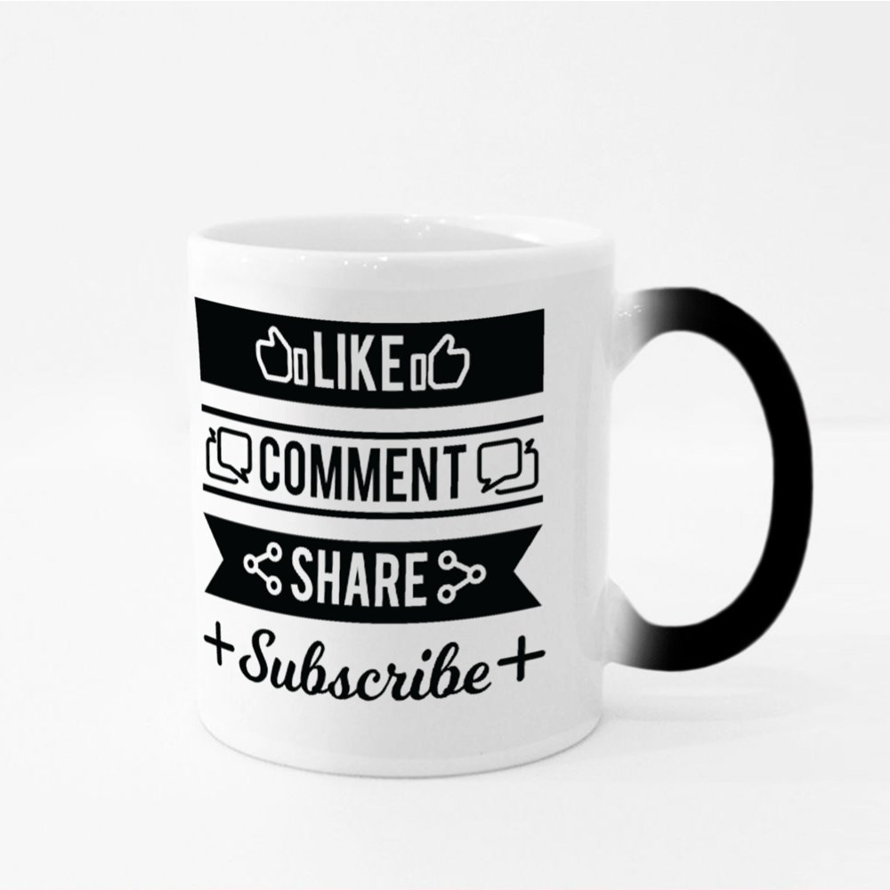 Comment and Share Subscrib Magic Mugs