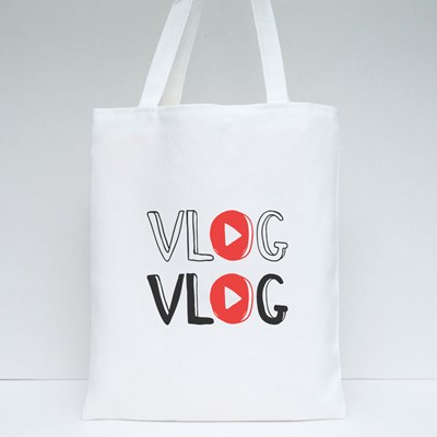 Youtube Video Blog Tote Bags