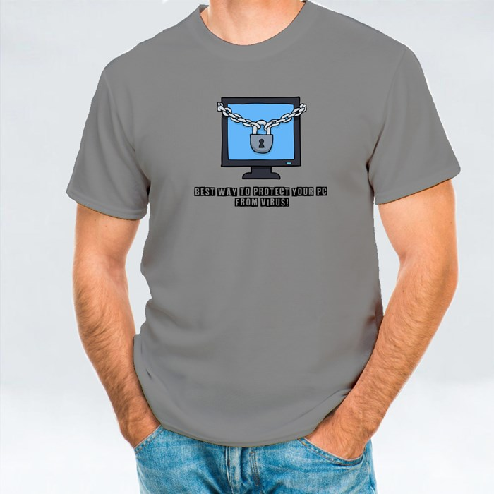 Best Way to Protect Your Pc T-Shirts