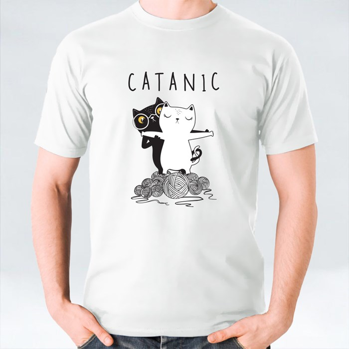 Catanic Cute Cats T-Shirts