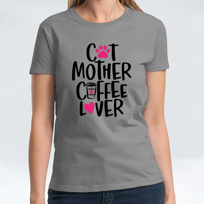 Cat Mother Coffee Lover T-Shirts