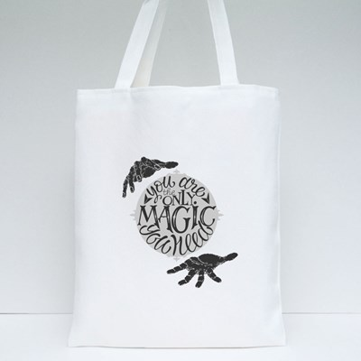 You Are the Only Magic Tote Bags