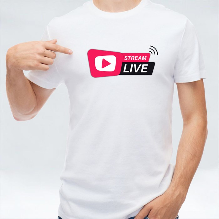 Stream Live Icon T-Shirts