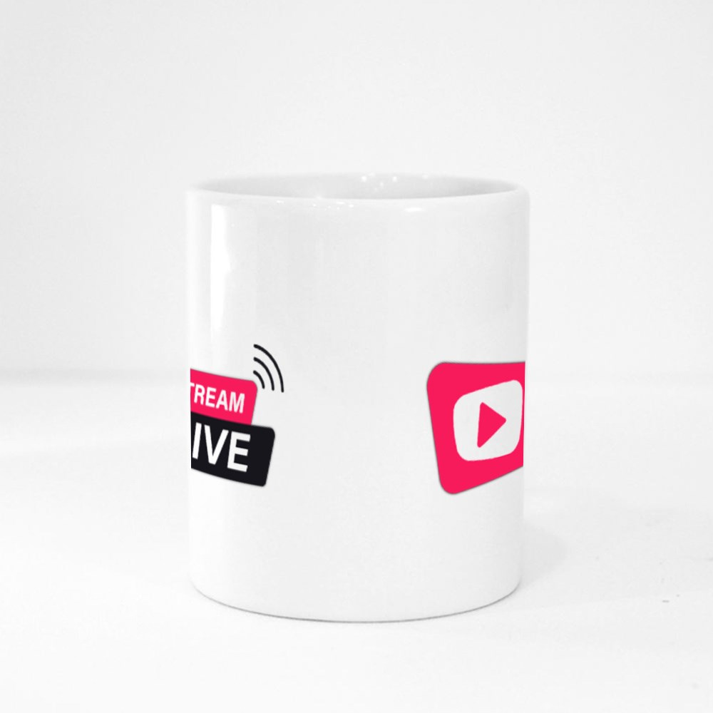 Stream Live Icon Magic Mugs