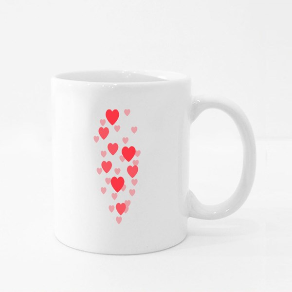 Hearts for Live Stream Colour Mugs