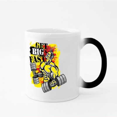 Get Big Fast Red and Yellow 魔法杯