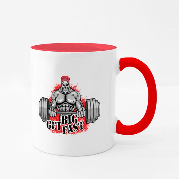 Bodybuilder Get Big Fast Colour Mugs