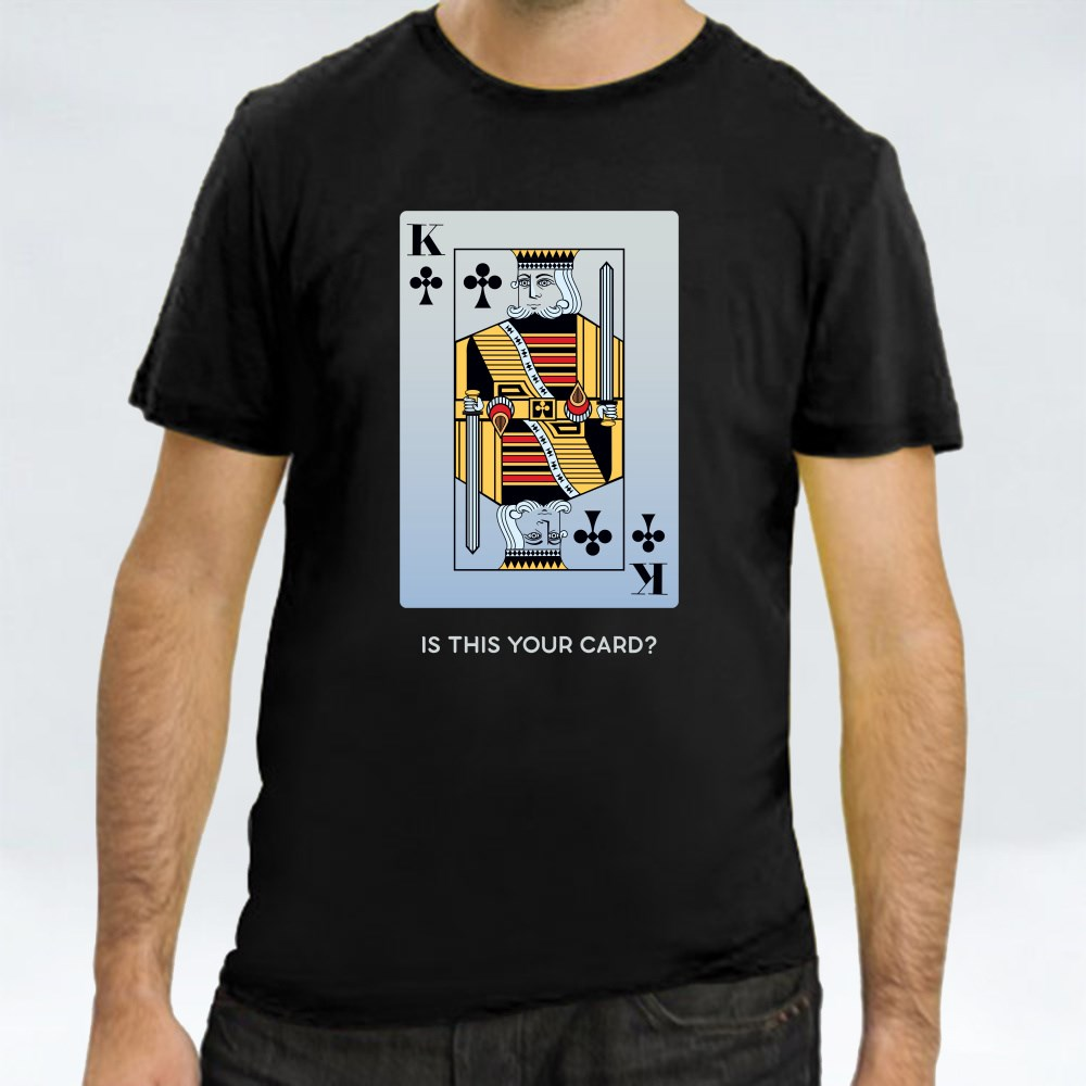 King of Clubs Card T-Shirts