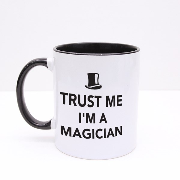 Trust Me I'm a Magician Colour Mugs