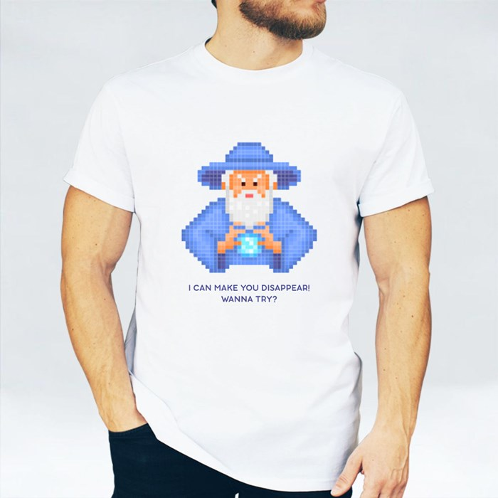 Evil Wizard Putting Spell T-Shirts