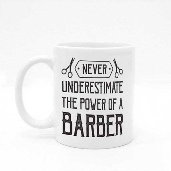 The Power of Barber Colour Mugs