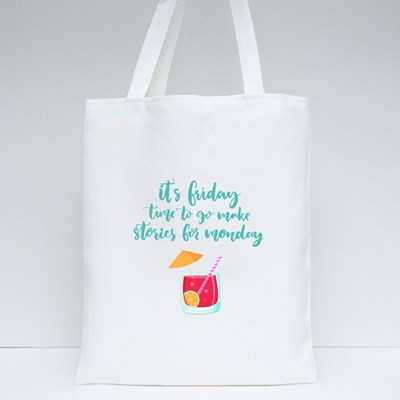 Time to Make Stories Tote Bags