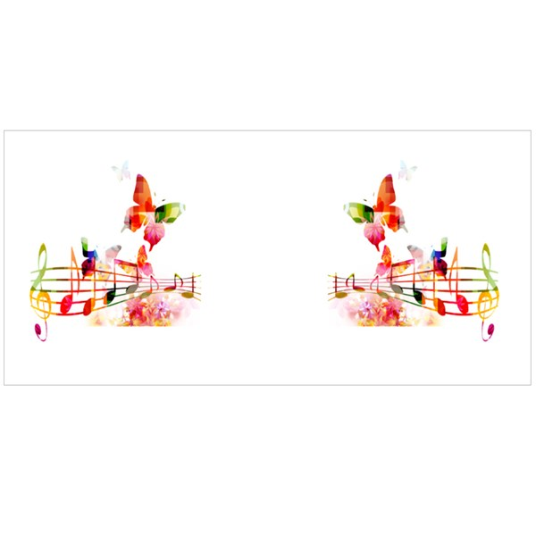 Colorful Music Background Colour Mugs