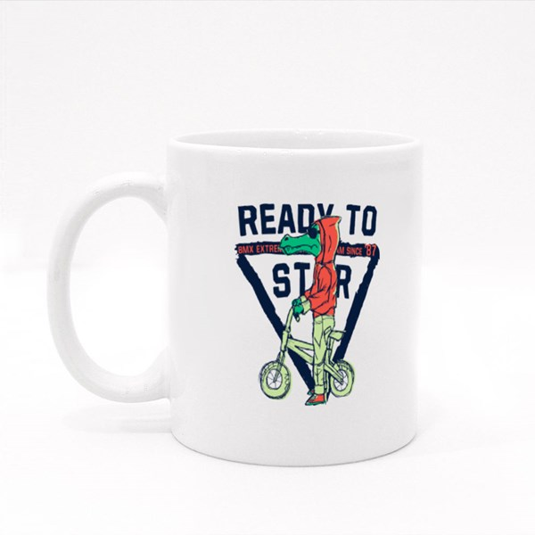 Rready to Star Bmx Colour Mugs