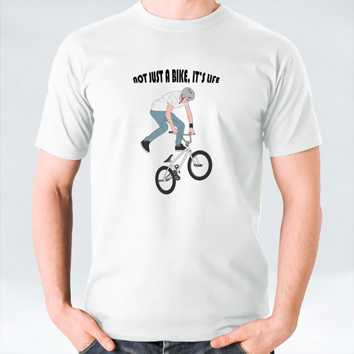 Not Just a Bike, It's Life T-Shirts