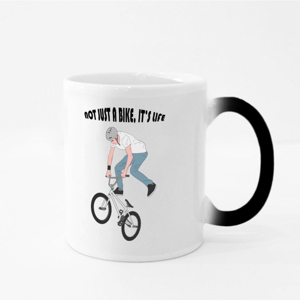 Not Just A Bike, It's Life Magic Mugs