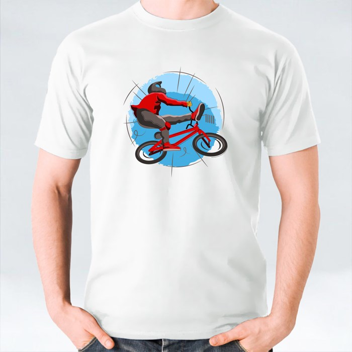 Bmx Freestyle Turns and Jumps T-Shirts