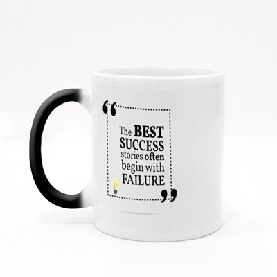 Success Begin With Failure Magic Mugs