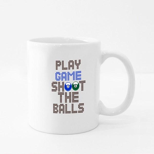 Play Game Shoot the Balls Colour Mugs