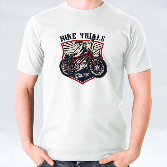 True Cyclist Ride Bmx 短袖T恤