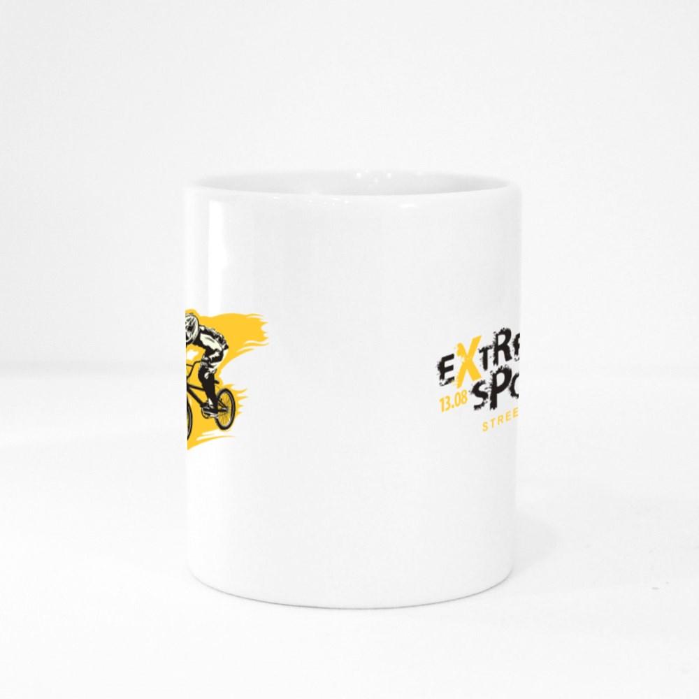 Extreme Sports Street Race Colour Mugs