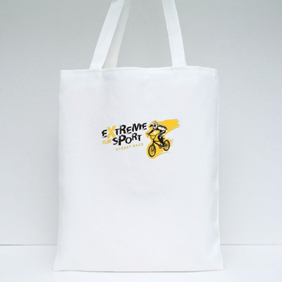 Extreme Sports Street Race Tote Bags