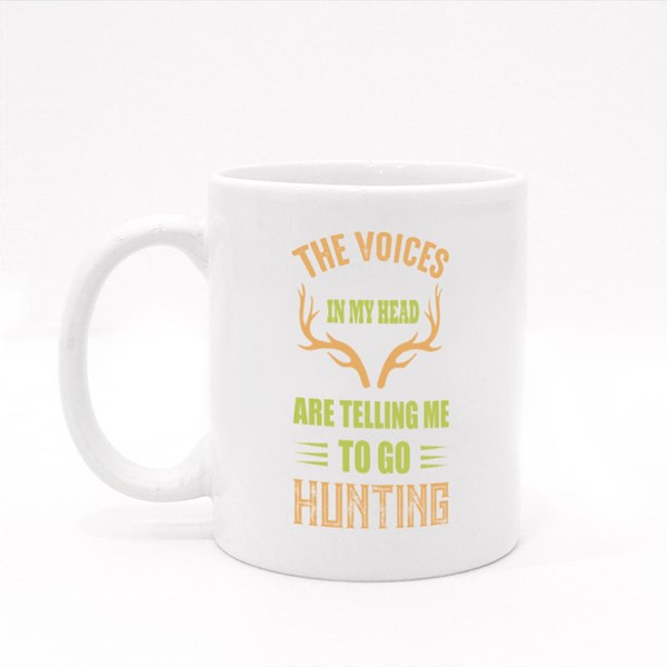 The Voices in My Head Colour Mugs