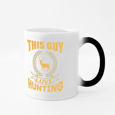 This Guy Love Hunting Magic Mugs