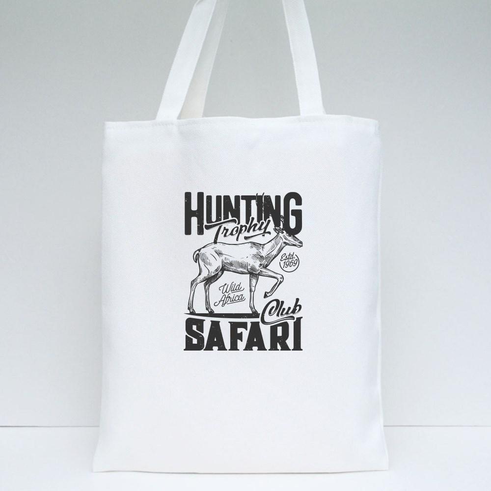 Hunting Safari Club Tote Bags